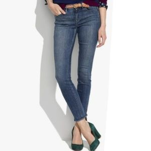 Madewell skinny skinny ankle jeans size 30